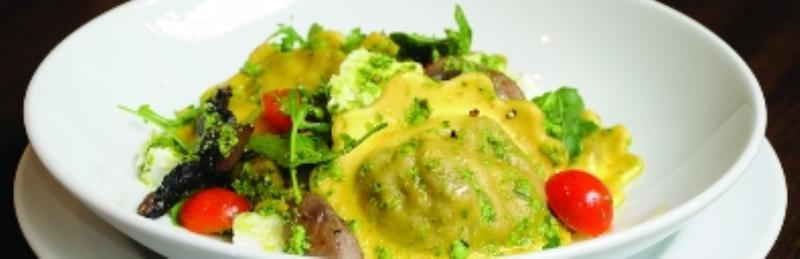 Sample dish, Prezzo, Euston, London