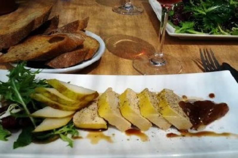 The Village Cafe Deia - Duck Pate (Photo courtesy of R Harding)