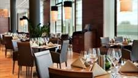 Larder Restaurant at Hilton Reading Hotel