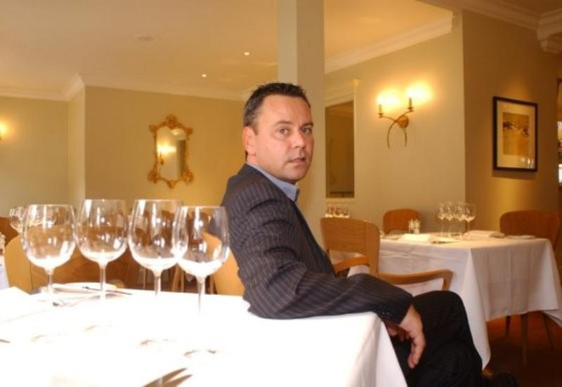 tony tobin @ the dining room | modern british restaurant | reigate