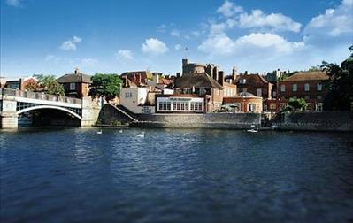 Thames View Restaurant, Sir Christopher Wren's House Hotel