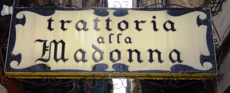 Tratorria Alla Madonna