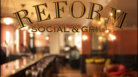 Reform Social & Grill, The Mandeville Hotel