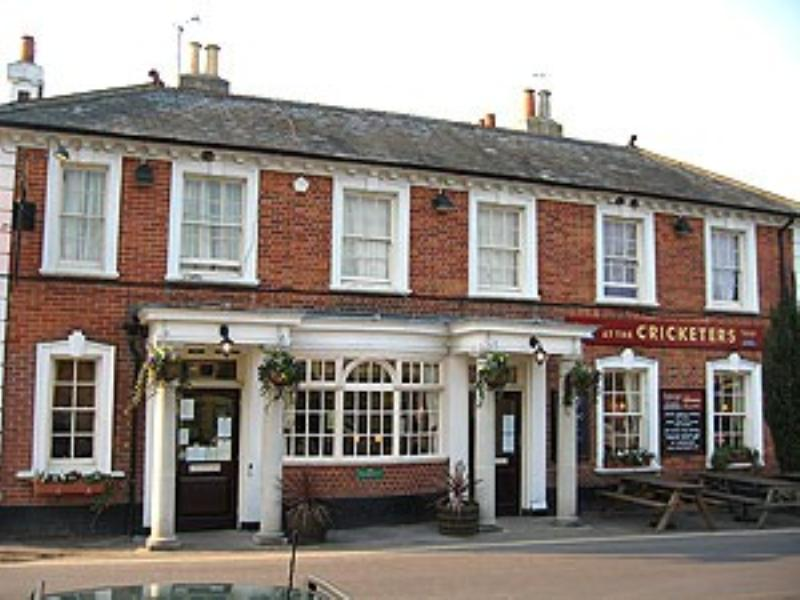 l'auberge at the Cricketers - Hartley Wintney