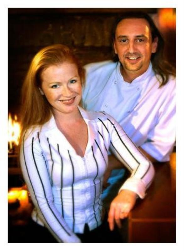 Patron/Host Kirsten Batt & Patron/Chef Sebastien Masi