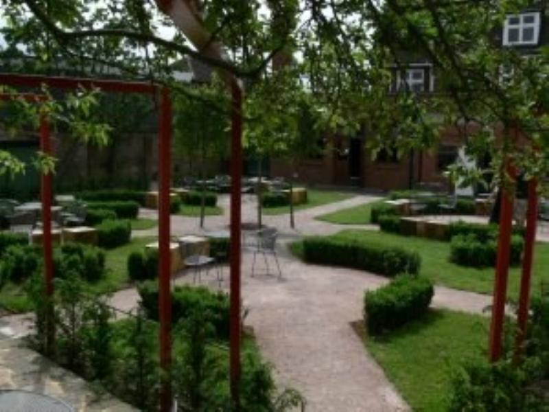 The Dolphin  Garden
