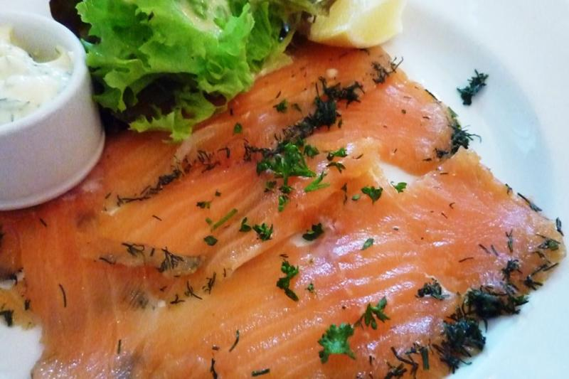 The Allotment - Home Cured Salmon