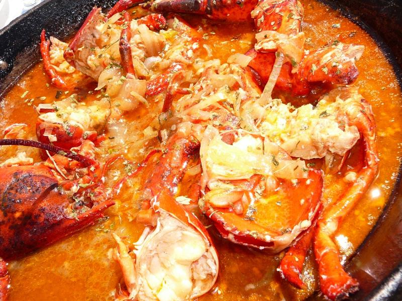 Traditional lobster casserole (caldereta) Miramar de Alcudia