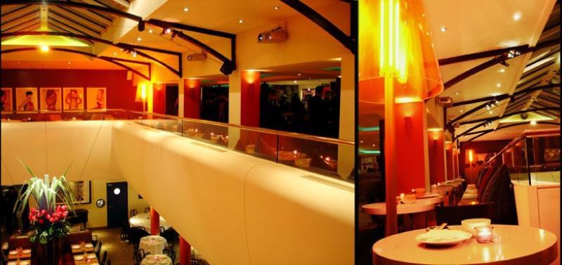 Interieur , Restaurant Alcazar , Paris , France .