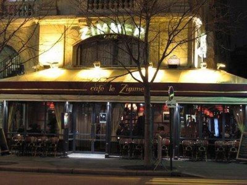 Exterior, Le Zimmer, Paris, France.