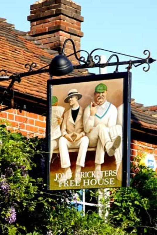 The Jolly Cricketers at Seer Green