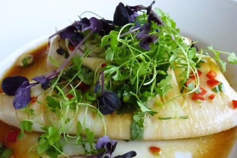 Rocksalt Restaurant Folkestone (Grilled Squid with Lime & Chilli)