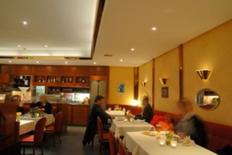 Inside view, Hotel Continental, Biel