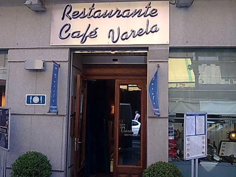 Exterior, Café Varela, Madrid, Spain