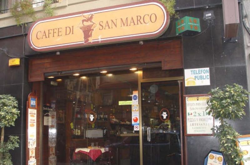 Exterior, Caffé Di San Marco, Barcelona, España