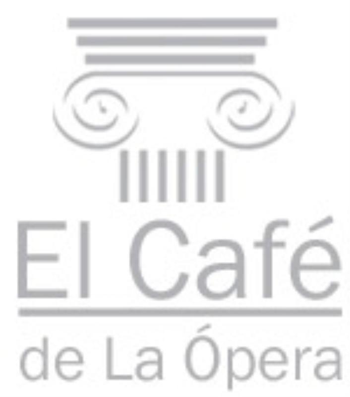 Logo, El Cafe de la Opera, Madrid, Spain