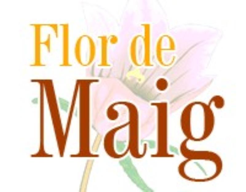 Logo, Flor de Maig, Barcelona, España