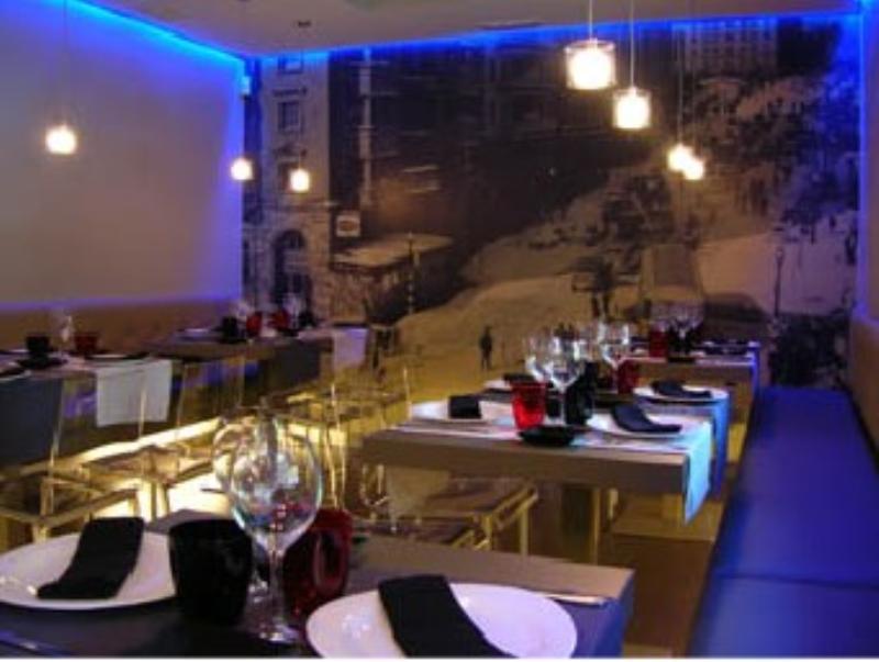 Interior, Hidalgo Restaurante, Barcelona, España