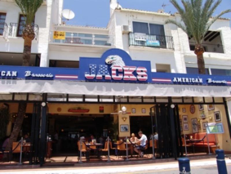 Exterior, Jacks American Restaurant, Marbella, Malaga