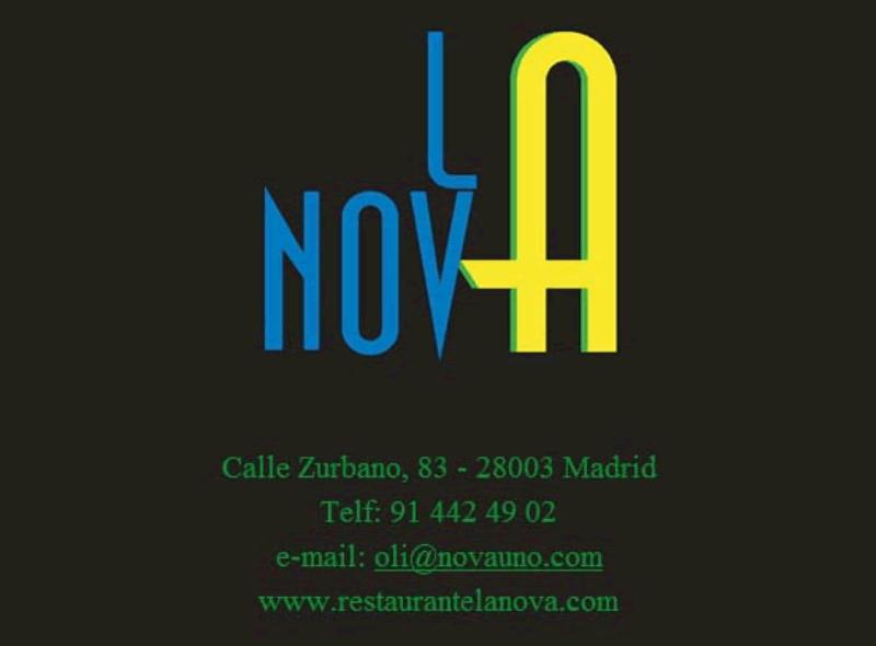 Logo, La Nova, Madrid, Spain