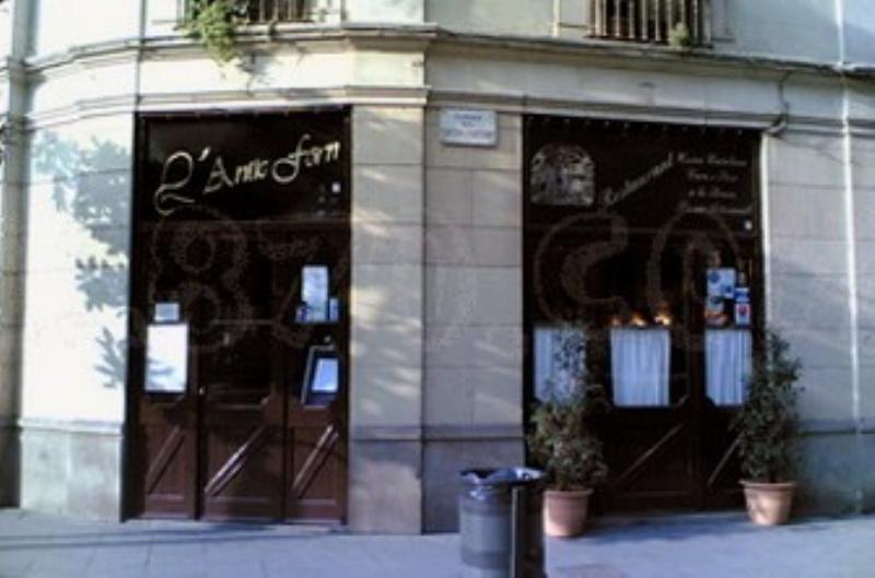 Exterior, L' Antic Forn, Barcelona, España