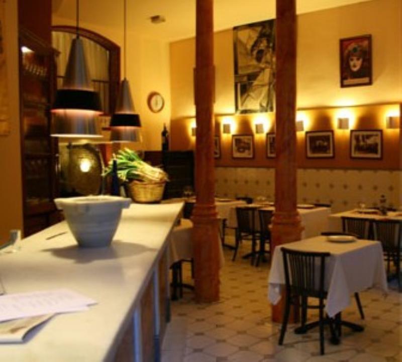 Interior, L' Antic Forn, Barcelona, España