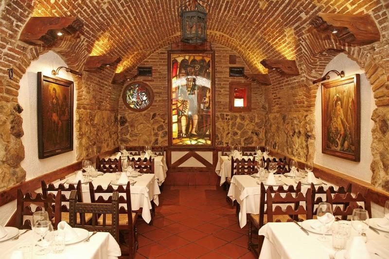 Interior, Las Cuevas de Luis Candelas, Madrid, España