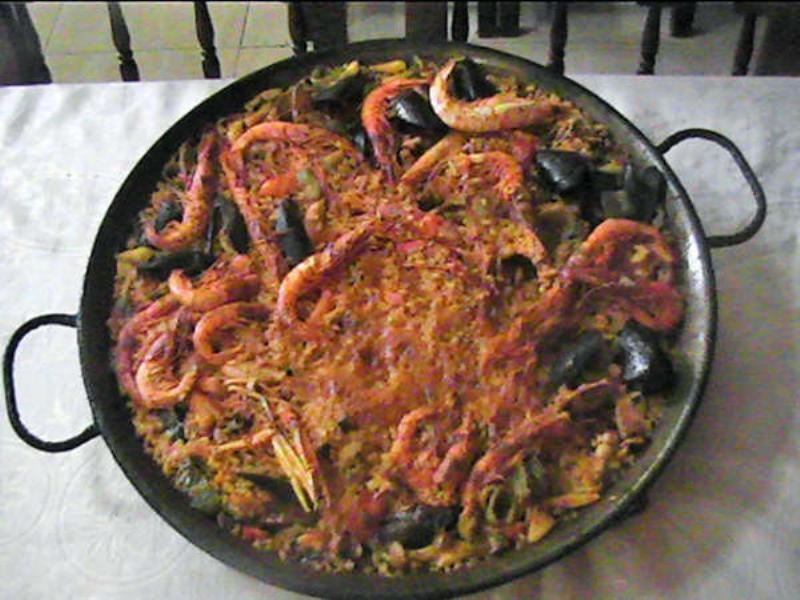 Paella, Restaurante Paco Alcalde, Almirall Aixada, Barcelona