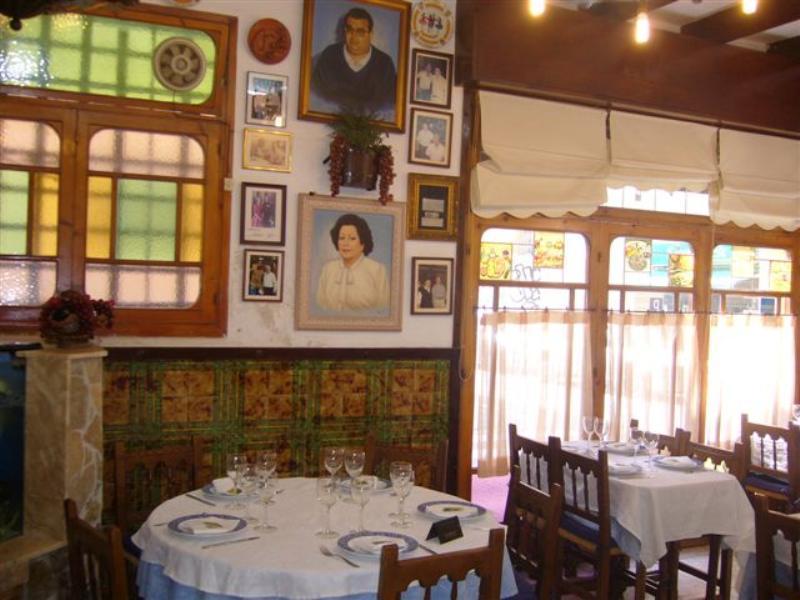 Interior, Restaurante Paco Alcalde, Almirall Aixada, Barcelona