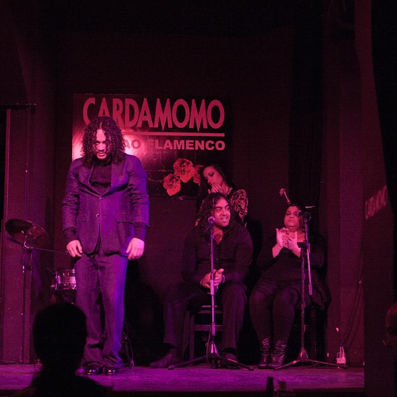Interior, Tablao Flamenco Cardamomo, Madrid, España