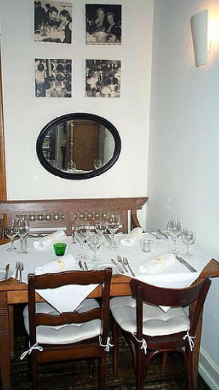 Hauptspeisebereich Main dining area