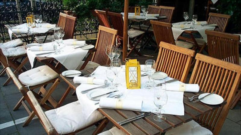 Äußere Speisebereich Outdoor dining area