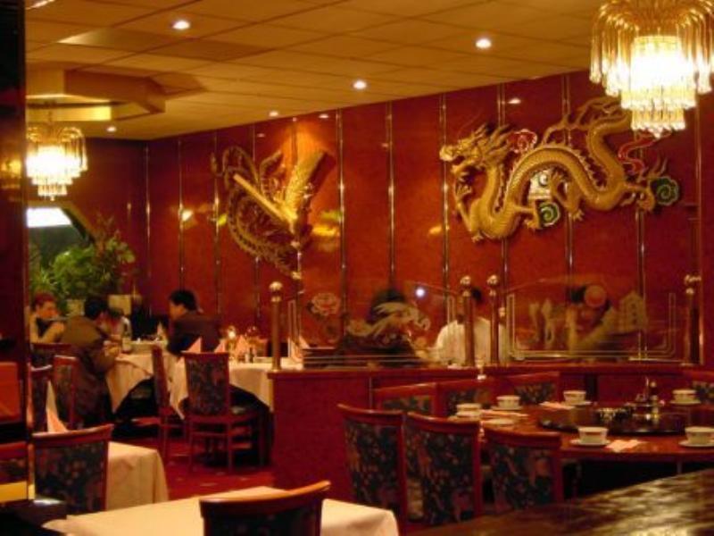 Dining Area, China Restaurant Rosengarten, Dusseldorf