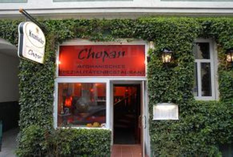 Entrance, Restaurant Chopan, Munich