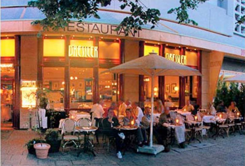 Outside, Restaurant Dressler, Berlin