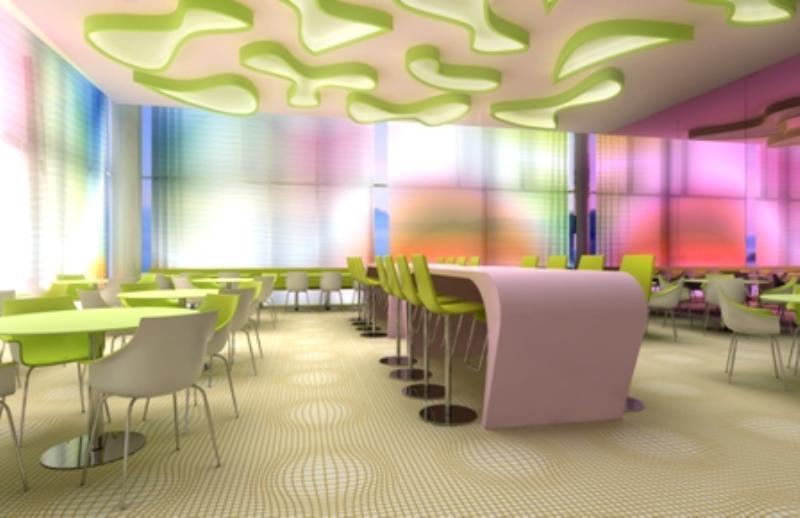 Fabrics im nhow Hotel Berlin, Friedrichshain, Strahlauer Allee