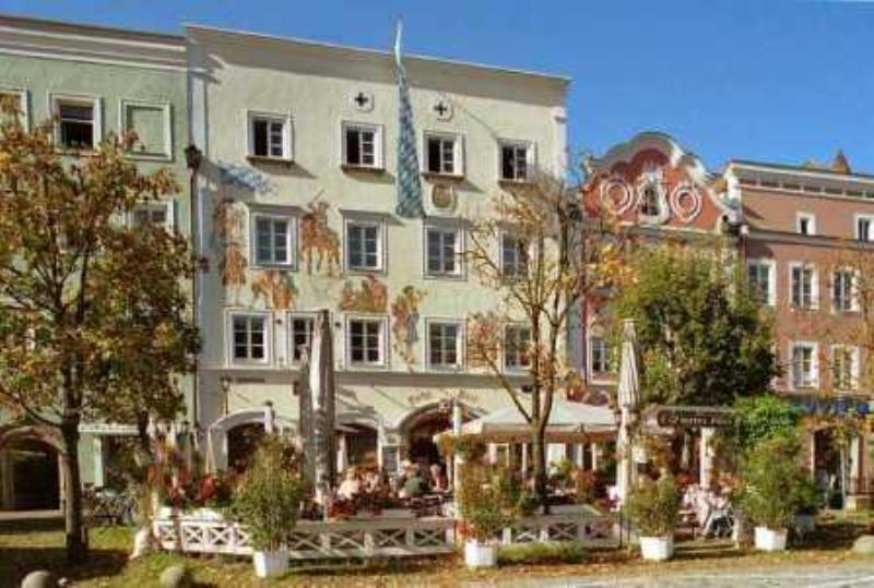 Outside, Hotel and Restaurant Post, Burghausen