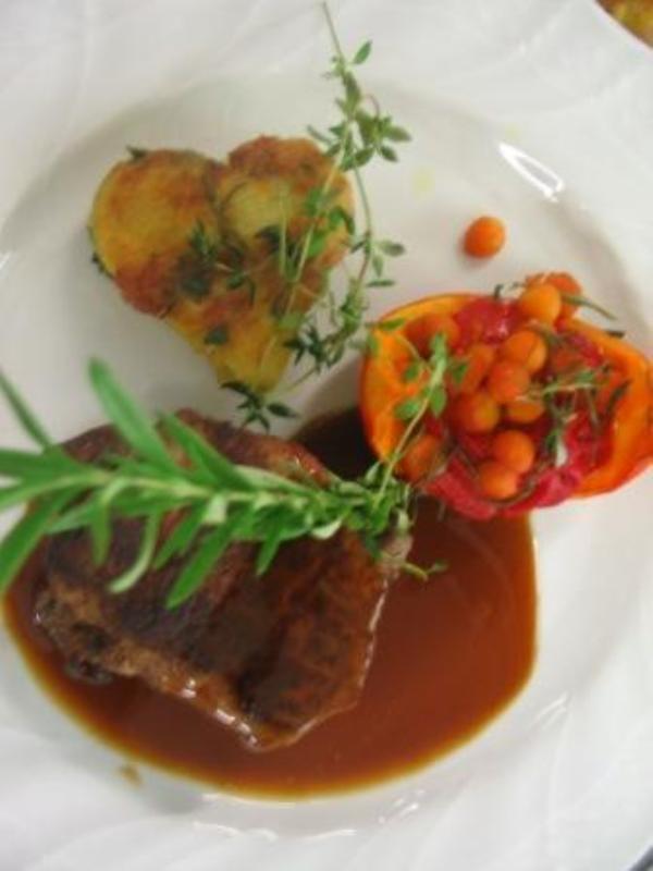 Main course, Restaurant Klostergasthof Raitenhaslach, Burghausen