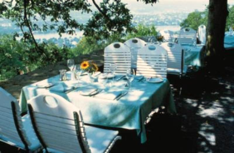 Restaurant Rheinterrassen im Steigenberger Grandhotel Petersberg, Königswinter / Bonn