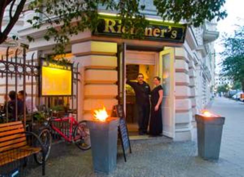 Entrance, Restaurant Riehmers, Berlin