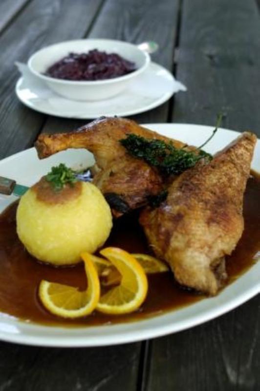 Main course, Restaurant St. Emmeramsmühle, Munich