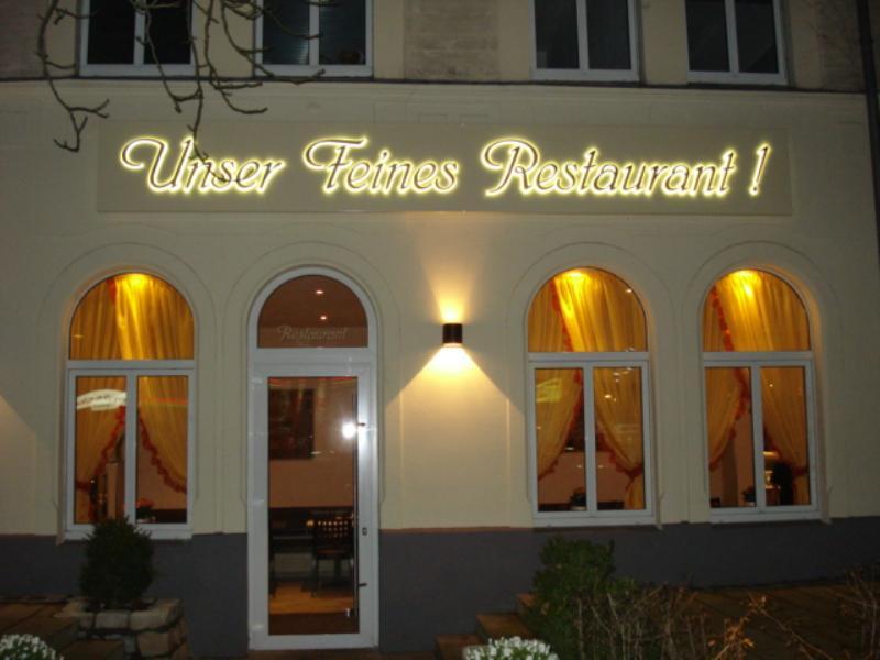 Outside view, Feines Restaurant, Berlin