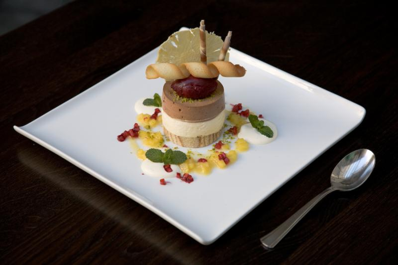 Dessert, Restaurant Weinhaus Neuner, Munich