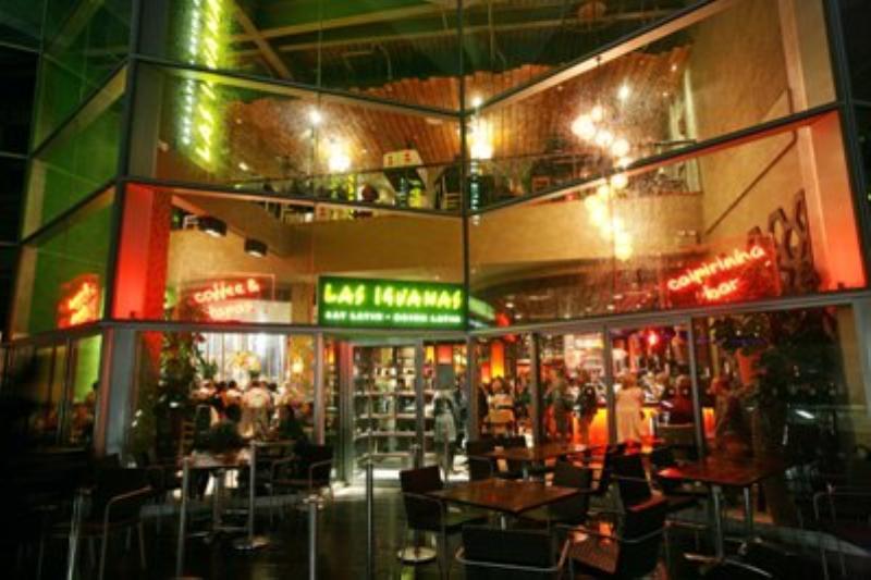 Exterior, Las Iguanas, Liverpool