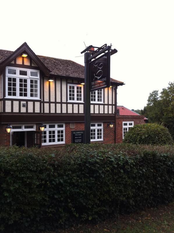 The Fishbourne Gastro Pub Restaurant Fishbourne Ryde Isle of Wight Hampshire