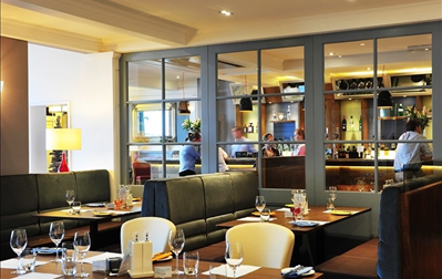 The Brasserie Bleue Restaurant at The White Lion