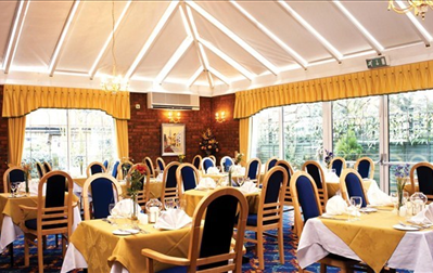 The Conservatory Restaurant at Best Western White House Hotel