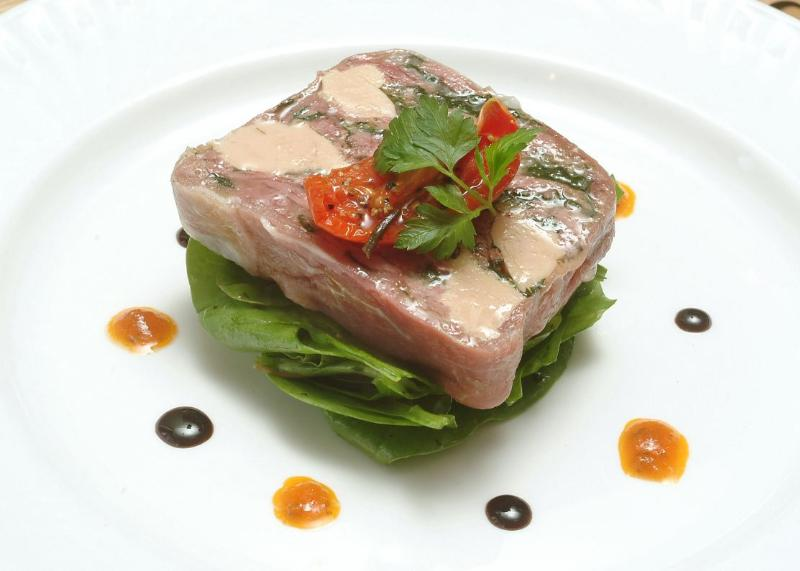 Dean Court Hotel - Terrine of Chicken