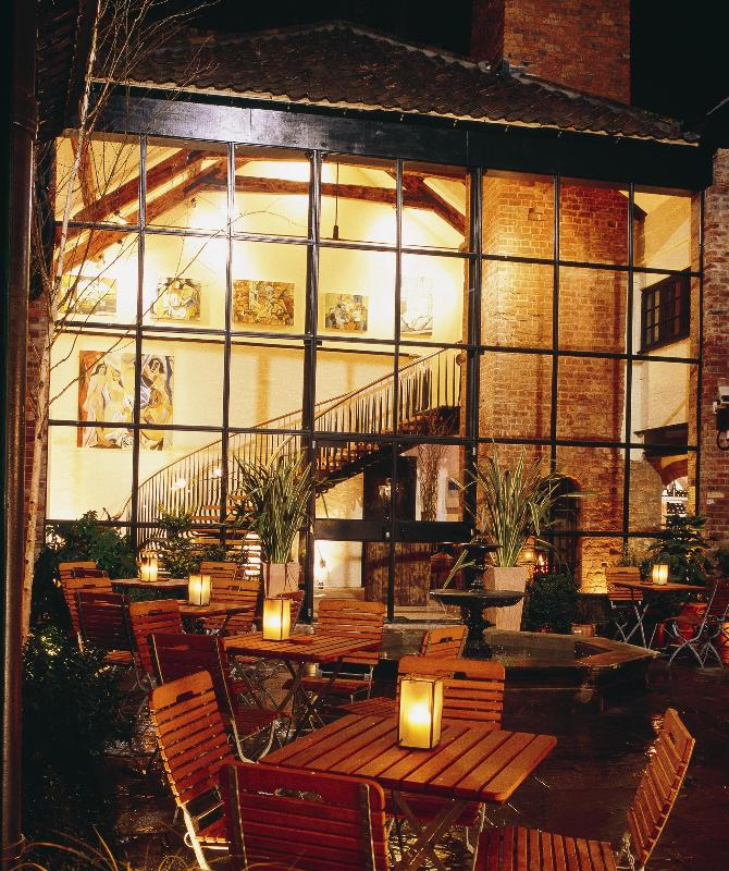 Candlelit Courtyard